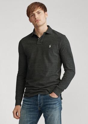 Ralph Lauren Mesh Long-Sleeve Polo Shirt All Fits