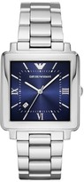 Emporio Armani Men's Square Bracelet Watch, 43Mm