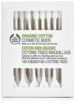 The Body Shop Organic Cotton Cosmetic Buds X100