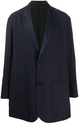 Julien David Mid-Length Single-Breasted Blazer