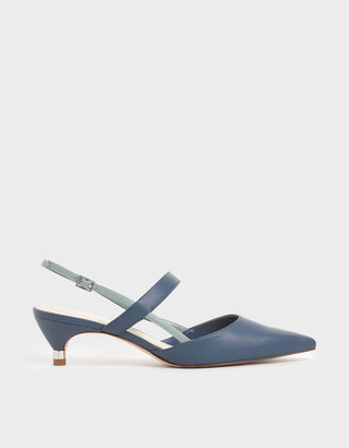 Charles & KeithCharles & Keith Slingback Kitten Heel Court Shoes