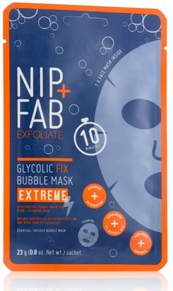 Nip + Fab Nip+Fab Exfoliate Glycolic Extreme Bubble Mask 23G