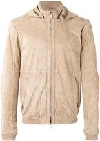 Desa Collection - leather bomber jacket - men - Suede - 48