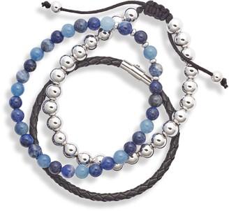 Nordstrom Assorted Set of 3 Stacking Bracelets