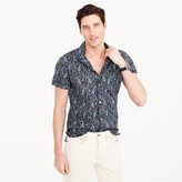 J.Crew Short-sleeve camp-collar shirt in paisley
