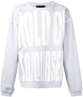 Haider Ackermann Hold On To Yourself sweatshirt - men - Cotton - M