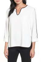 Ming Wang Women's Split Sleeve Blouse