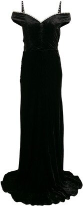 Maria Lucia Hohan Ayla embellished maxi dress