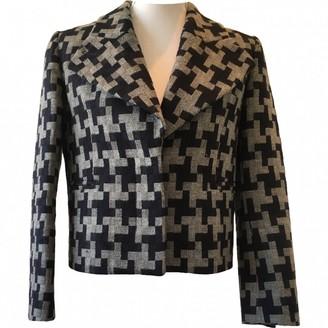 Carven Grey Wool Jacket for Women