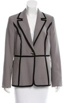 Escada Virgin Wool Single-Button Blazer w/ Tags