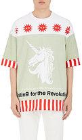 Undercover Men's Mixed-Print Cotton Oversized T-Shirt