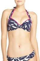 Tommy Bahama Women's Leaf Print Underwire Bikini Top