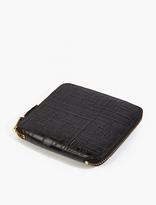 Comme Des Garcons Wallet Black Logo Type Wallet
