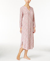 Miss Elaine Luxe Printed Knit Nightgown