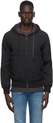 Moncler Black Down Mondrone Jacket