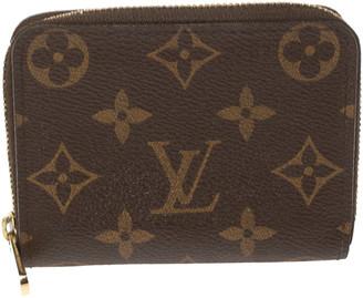 Louis Vuitton Monogram Canvas Zippy Coin Purse