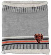 G Iii Women's G-III Sports by Carl Banks Chicago Bears Warm Up Striped Tube Scarf
