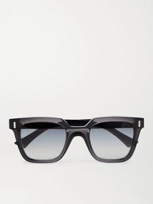 Cutler & Gross Square-Frame Acetate Sunglasses