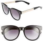 Bobbi Brown Women's The Hannah 50Mm Gradient Sunglasses - Black/ Gold