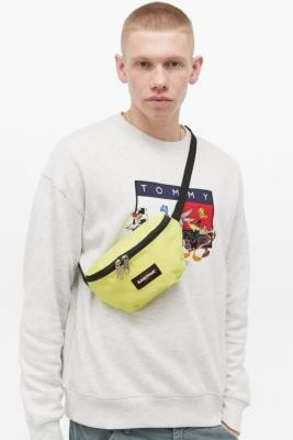 Eastpak Springer Instant Yellow Bum Bag - Yellow ALL at Urban Outfitters