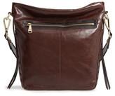 Hobo Banyon Calfskin Leather Bucket Bag - Brown