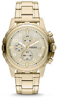Fossil Dean Stainless Steel Champagne Watch