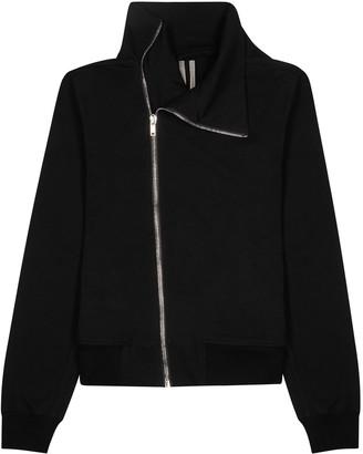Rick Owens Black cotton track jacket