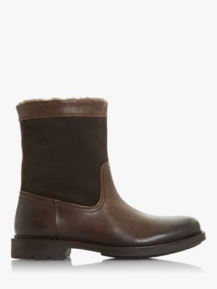 Dune Clouds Shearling Lined Leather Boots