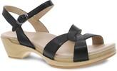 Dansko Leather Adjustable Ankle Strap Sandals -Karmen