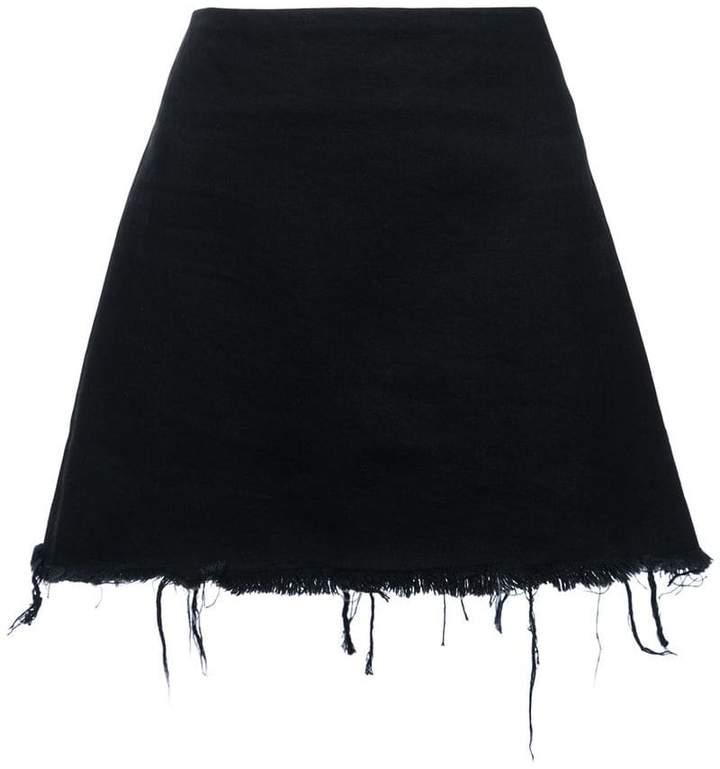 Alexander Wang denim mini skirt
