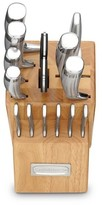 Cuisinart 15 piece Stainless Steel Cutlery Block Set - V-Edge