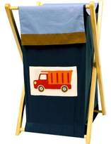 Bacati Transportation Multicolor Hamper