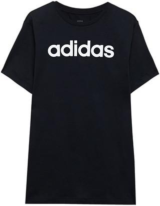 adidas Logo-print Cotton-jersey T-shirt
