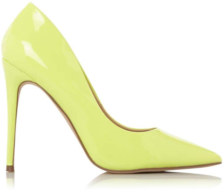 6c5620c19a2 Womens *Head Over Heels By Dune Lime 'Aimees' Court Shoes