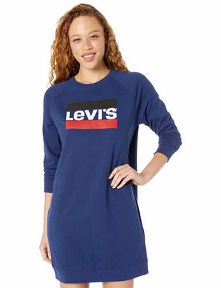 Levi's Women's Crew Sweatshirt Dress