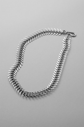 Weekday Spine Necklace - Silver
