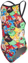 Angry Birds Don't Worry, Be Angry Thin Strap Swimsuit Youth 8132982