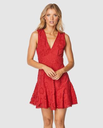 Pilgrim Women's Red Mini Dresses - Kioko Mini Dress - Size One Size, 6 at The Iconic