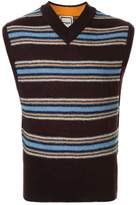 Wooyoungmi striped knitted vest