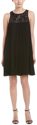 Trina Turk Women's Lynelle Chic Drape Pleated Dress
