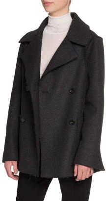 Proenza Schouler Wool Notched-Collar Jacket