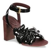 See by Chloe Hina Leather Ankle-Strap Sandals