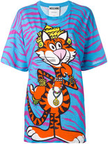 Moschino crowned tiger T-shirt