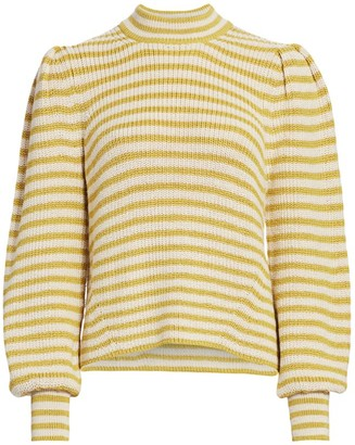 Eleven Six Mia Striped Alpaca Sweater