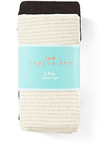 Copper Key 2-Pack Striped/Solid Tights