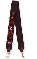 Anya Hindmarch space invaders shoulder strap - women - Cotton/Leather/PVC/metal - One Size