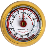 Eddingtons Retro Kitchen Timer, Gold