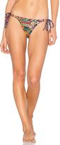Agua Bendita Bendito Circulo Reversible Bikini Bottom in Orange. - size M (also in )