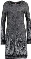 Anna Field Jumper dress white/black