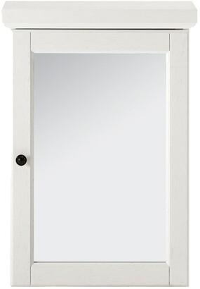 Crosley Seaside Mirrored Wall Cabinet